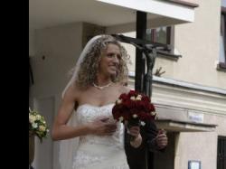 suknia ślubna carrera, annais bridal, ecru
