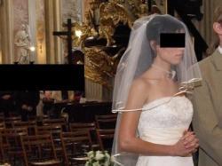 suknia ślubna Chanel rozm 34/36