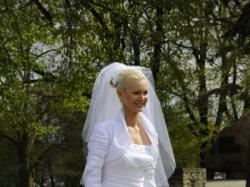 Suknia Ślubna Chantilly roz. 36/38 + bolerko + welon