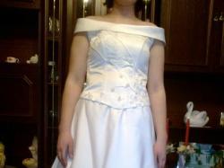 suknia ślubna chojnów sprzedam