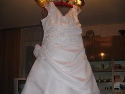 Suknia Ślubna (ciążowa) + bolerko ocieplane !!