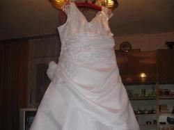 Suknia Ślubna (ciążowa) Gratis bolerko ocieplane !!