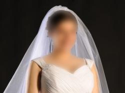 Suknia ślubna CIĄŻOWA lub dla pań z DUZYM BIUSTEM