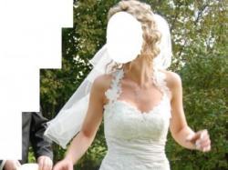 suknia ślubna classa 36/38, 170 cm; 800 zł do negocjacji