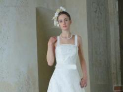 Suknia Ślubna Classa 409 dla niskiej