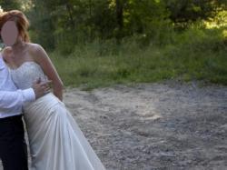 Suknia ślubna Corina na b.wysoką (180) i szczupłą