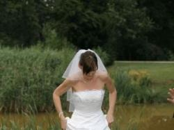 Suknia ślubna Cosmobella 7163 - piękna!