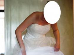 Suknia ślubna COSMOBELLA 7463, rozmiar 38, JAK NOWA!