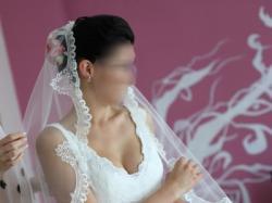 Suknia ślubna Cymbeline Dubai 38 (fr 40) koronkowa + welon hiszpański
