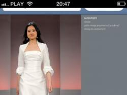 Suknia ślubna Cymbeline Guimauve