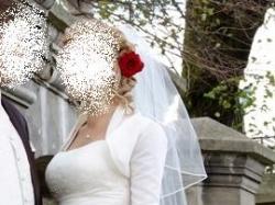 suknia ślubna DANALEA, dla wysokiej