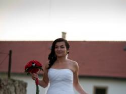 suknia ślubna Dante La Sposa, Madonna + hiszpański welon
