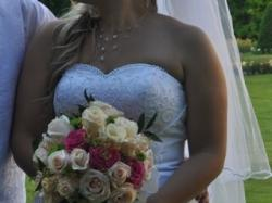 suknia ślubna david bridal