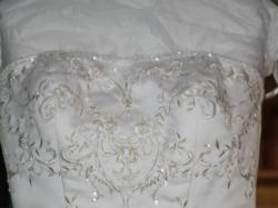 Suknia ślubna David's Bridal+GRATIS buty ślubne