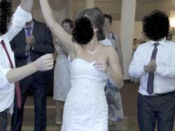 Suknia ślubna- delikatna rybka