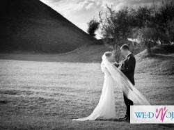 Suknia ślubna - delikatna, zwiewna, lekka