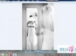 Suknia ślubna DEMETRIOS 1356 36/38 + welon bolerko