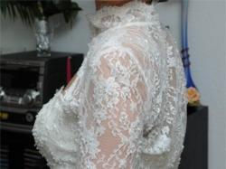 Suknia ślubna - Demetrios 4261 - Suknia + Bolerko + Welon