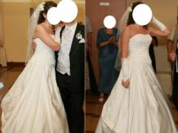 Suknia ślubna Demetrios 9700 Lisa Ferrera