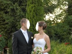Suknia ślubna Demetrios 982 - KSIĘŻNICZKA