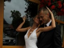 suknia ślubna demetrios koronka rybka 34