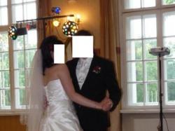 Suknia ślubna Diamond White r. 40 (14)