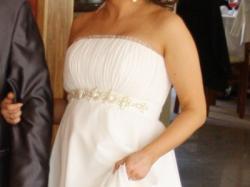 Suknia ślubna DIANA+ bolerko gratis