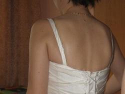 Suknia ślubna Diana w kolorze ecru