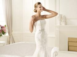 suknia ślubna DICIEMBRE PRONOVIAS 2014 +oryginalny pasek,halka,2welony