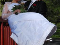 Suknia ślubna dla ciężarnej!!!