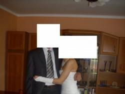 suknia ślubna dla delikatnej Panny Młodej