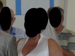 Suknia ślubna dla dużej kobitki roz.50