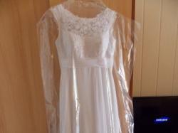 suknia ślubna dla małej i drobnej panny młodej