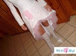 Suknia ślubna dla odważnej Panny Młodej lub na poprawiny