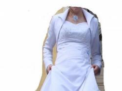 """""""suknia ślubna dla panny z brzuszkiem"""" - ciążowa"""