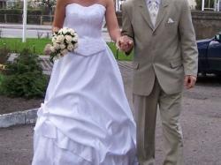 suknia ślubna dla wysokiej panny młodej!