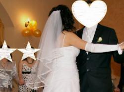Suknia ślubna (+dodatki)