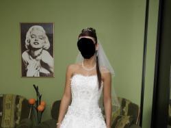 suknia ślubna + dodatki agora 11-10, księżniczka