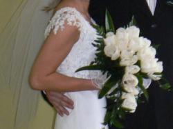 Suknia ślubna + dodatki gratis