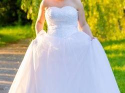 Suknia ślubna+dodatki-sprzedam