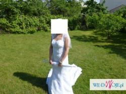 Suknia Ślubna Domi - koronka
