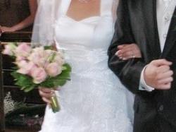 Suknia ślubna Dominika + Bolerko GRATIS!!!