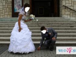 Suknia ślubna!!! Drugiej takiej NIE MA! Polecam!!