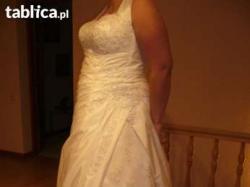 Suknia ślubna duży rozm.44-46-48