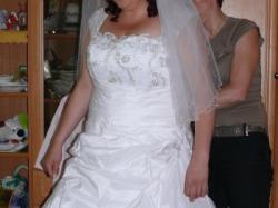Suknia ślubna duży rozmiar