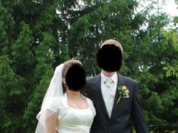 Suknia ślubna - ecre