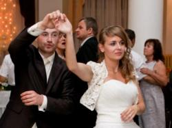 suknia ślubna ecru 38 tiul