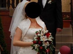 Suknia ślubna Ecru Może Być Ciążowa R 40 42 Wrocław Lubin Suknie