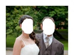 suknia ślubna ecru r.38