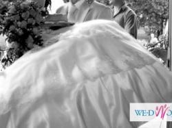 Suknia ślubna ecru rozm 36- 38